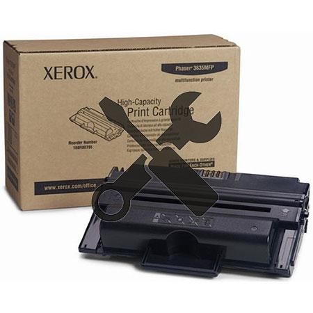 Заправка картриджа  Xerox Phaser 3635MFP (10k)с заменой чипа