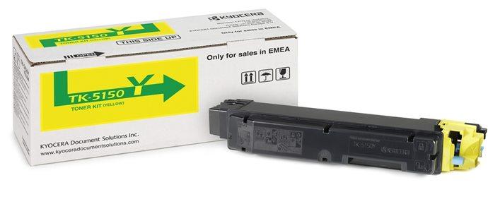 Заправка картриджа Kyocera TK-5150Y для  ECOSYS M6535/ P6035cdn с заменой чипа