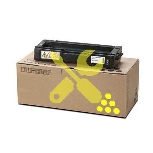 Заправка желтого картриджа Ricoh C310HE для SPC231SF / C232SF / SPC231N / C232DN / C311N / C312DN / C320DN / C242DN / C242SF с заменой чипа