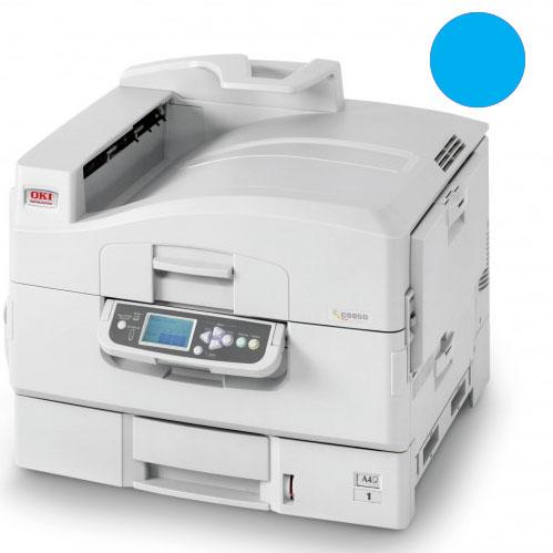 Заправка синего картриджа для OKI C9600 / С9650 / С9800 / С9850 с заменой чипа