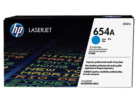 HP Kартридж голубой 654A (CF331A)  HP Color LaserJet Enterprise M651n/ M651dn/ M651xh/ M680dn (15K) ориг.