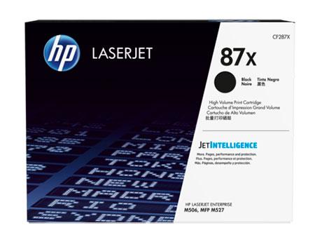 HP Kартридж чёрный №87X HP LaserJet Enterprise M506 / MFP M527