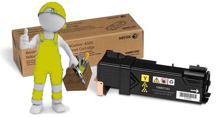 Заправка картриджа  для Xerox Phaser 6500 / WC 6505 желтый