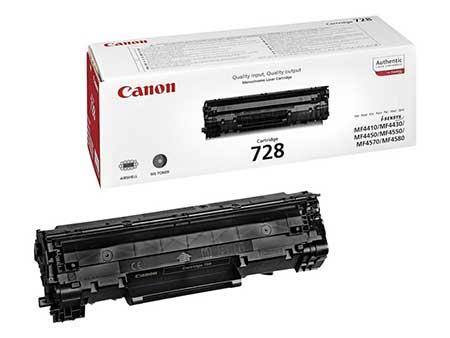 Canon Картридж черный оригинал (2,1К) [728] для Canon MF4410 / 4430 / 4450 / 4550dn / 4570dn