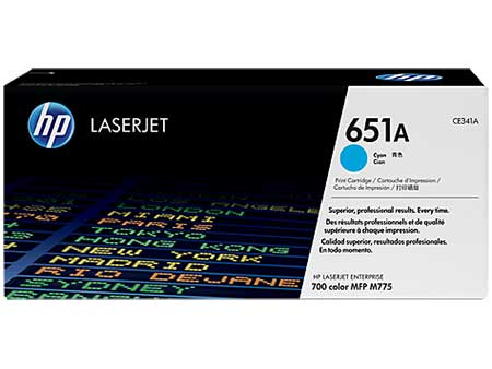 HP Картридж голубой HP 651A Color LaserJet Enterprise 700 M775 (16K)