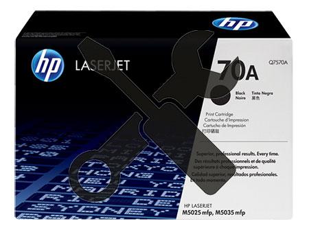 Заправка картриджа Q7570A для HP LaserJet M5025 / M5035 с заменой чипа
