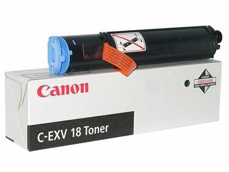 Canon Тонер черный оригинал (8,4К) [C-EXV 18] для Canon IR-1018