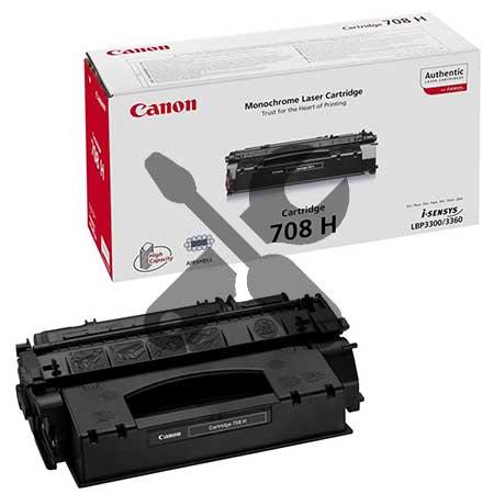 Заправка картриджа Canon 708H увеличенного объема  для i-SENSYS LBP3300 / i-SENSYS LBP3360 с заменой чипа