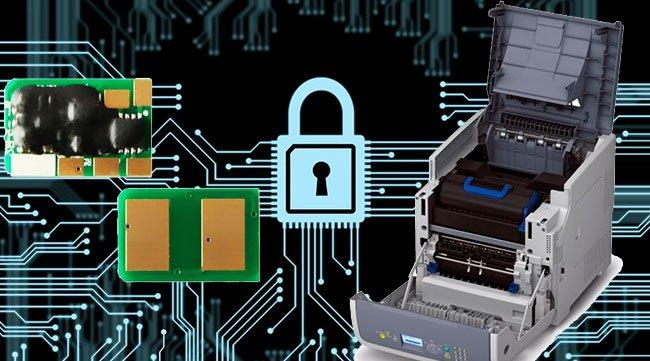 Патч для работы чипов в принтерах OKI B731dnw   с новыми прошивками версий A02.33 и A02.50