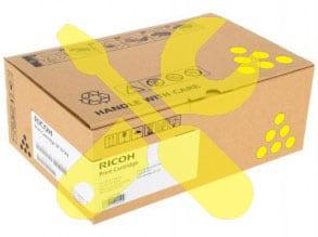 Заправка желтого картриджа Ricoh SPC340E ( 3800стр) для Ricoh SP C340DN с заменой чипа