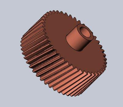 Шестерня Kyocera 302HS31181 3D модель для печати