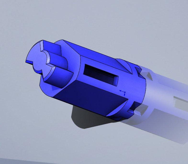 Подпружиненный привод узла термозакрепления Samsung CLP-300 / 310 / 320 / 325
