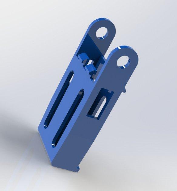 Корпус основания кронштейна  DADF  JC97-04197A / 003N01051 модель для 3D печати
