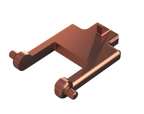 КРОНШТЕЙН  КРЫШКИ СТОЛА JC61-00929A ДЛЯ SAMSUNG SCX-3400 / SCX-4100 / SCX-4200 3D модель для печати
