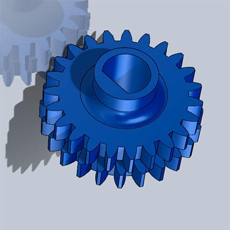 Шестерня канала отвода отработанного тонера между черным Drum unit и лентой переноса Kyocera P5021, P5026, M5521, M5526 модель для печати