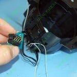 Демонтированная контактная площадка