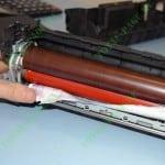 Извлекаем застрявшую бумагу из печки OKI C301