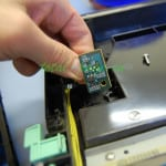 Плата с  микросхемой  24c02 в которой содержатся счетчики