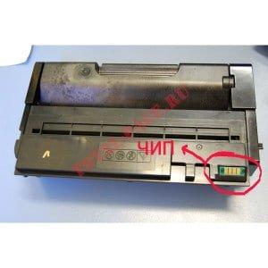 В картридже используется новый вид чипа