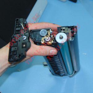 Ricoh SP150 про конструкцию тонеры, чипы и заправку.